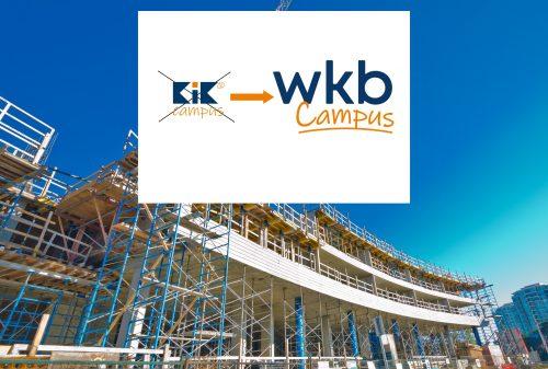 KiKCampus heet voortaan WkbCampus!